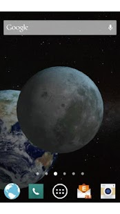 Moon Live Wallpaper Free - screenshot
