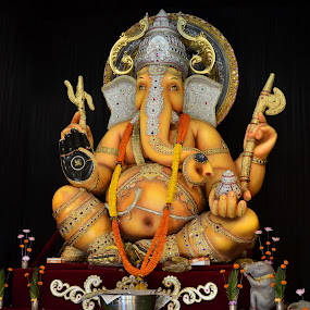 Lord Ganesha by Priyank Jha - Artistic Objects Other Objects ( nikon d5100, god, mythology, india, festival, ganesha )