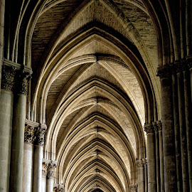 Cathedral by Heather Aplin - Buildings & Architecture Places of Worship
