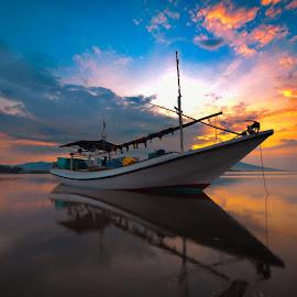 by Rudi Zibond - Transportation Boats