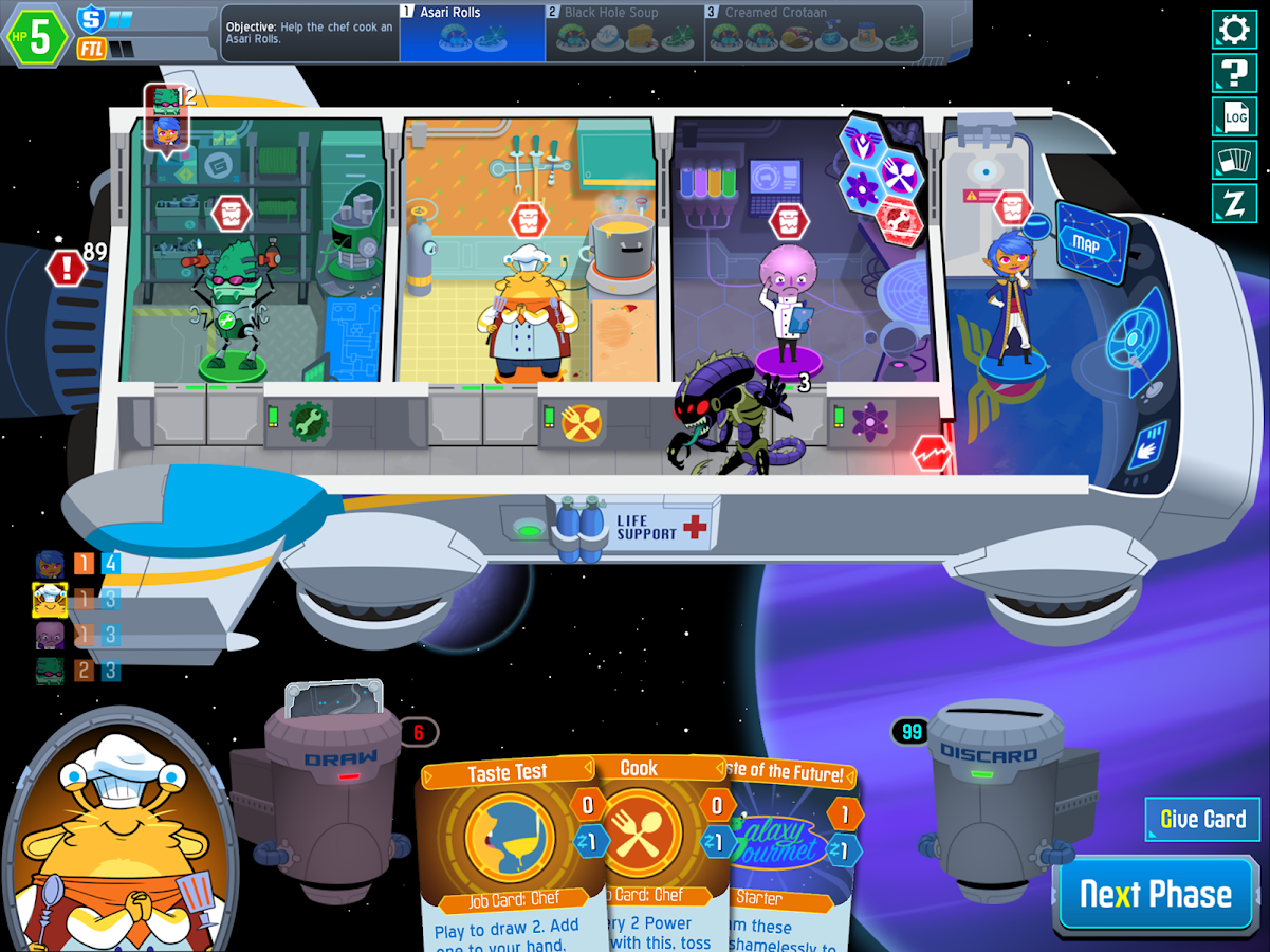 Space Food Truck Screenshot