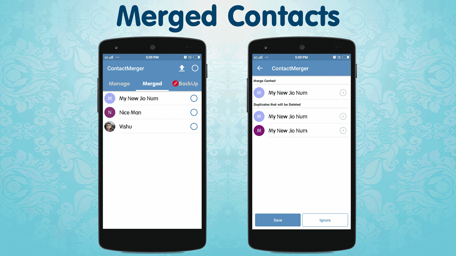 Duplicate Contact Merger Screenshot 4