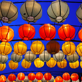 Lampion by Mulawardi Sutanto - Abstract Patterns ( monjali, lampion, travel, light, yogya )