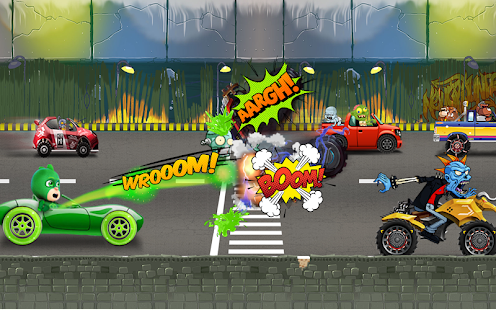 Road Pj Battle Masks Green - screenshot