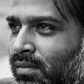 by Mahesh Gadekar - Black & White Portraits & People (  )