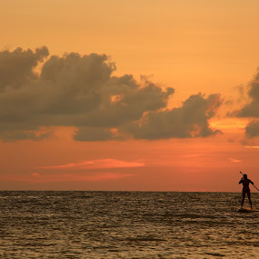 Paradise by William Rhodes - Landscapes Sunsets & Sunrises ( water, sunset, beautiful, sports, beach )