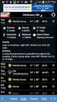 Screenshot of KQCD-TV First Warn Weather
