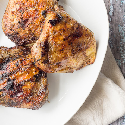 how to cook jerk chicken thighs