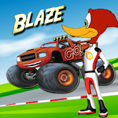 woody blaze woodpecker: Monster Car Game