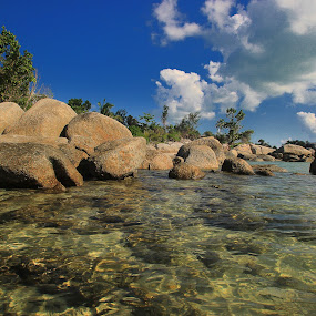 Penyusuk Beach by Norbertus Cahya H A - Landscapes Beaches ( landscaper, visitbangka, bangkabelitung, bangkaisland, belinyu, visitindonesia, penyusukbeach )
