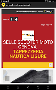 Selle scooter moto Genova - screenshot