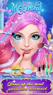Mermaid Makeup Salon APK for Bluestacks