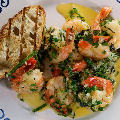 Kate Bosworth's Lemon Shrimp Scampi