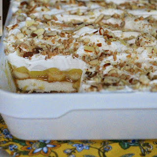Caramel Banana Pudding Lush