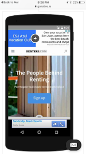 Renters.com - screenshot