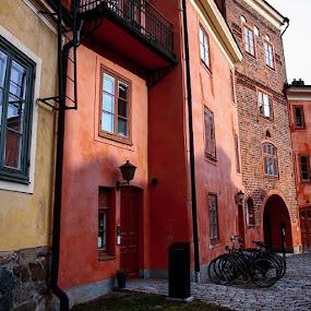 Uppsala, Sweden by Issam Shaheen - City,  Street & Park  Street Scenes ( uppsala, uppsalastad, sverige, sweden, scandinavian, loves_sweden, photographer, photographers, photo, photos, photographey, photoshoot )