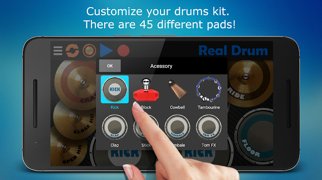 Real Drum APK screenshot thumbnail 7