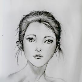 by Yongki Wahyu - Drawing All Drawing ( pencil, traditional, drawing )