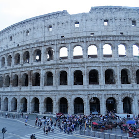 The Colosseum by Maricor Bayotas-Brizzi - City,  Street & Park  Historic Districts