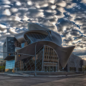 Art Gallery of Alberta by Doug Clement - Buildings & Architecture Architectural Detail ( clouds, aga, gallery, art, sunrise, edmonton )