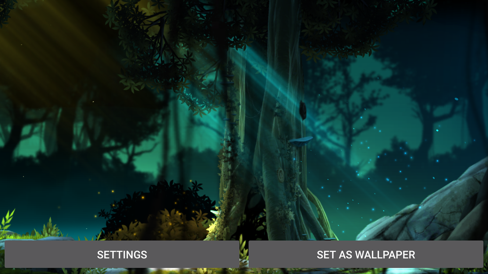 Fantasy Jungle Live Wallpaper Screenshot 14