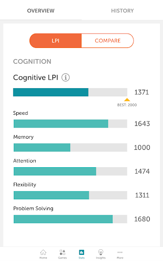 Lumosity - Brain Training screenshot 24