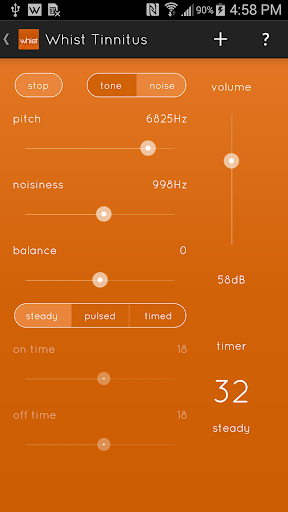 Whist - Tinnitus Relief screenshot for Android
