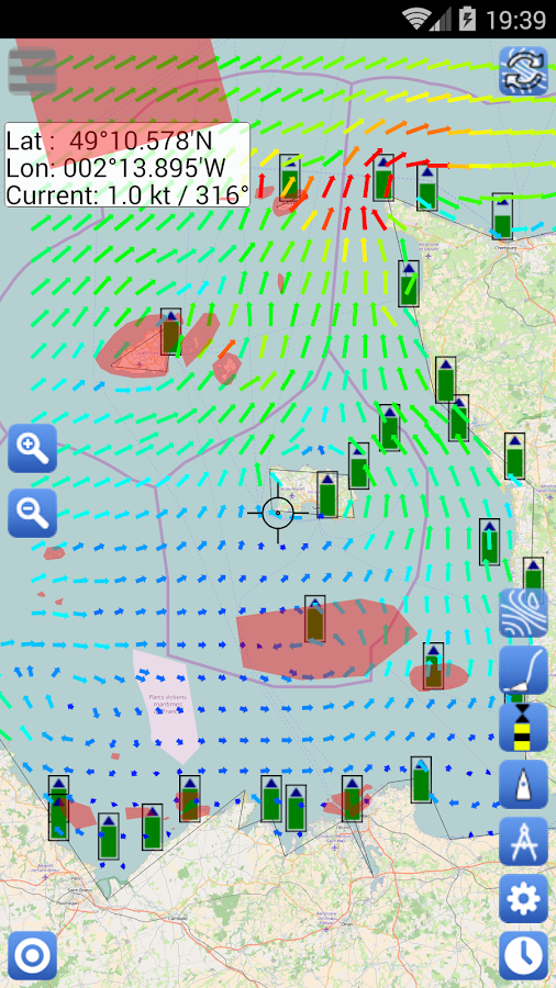 Weather - Routing - Navigation Screenshot 4