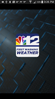 Screenshot of NBC 12 First Warning Weather