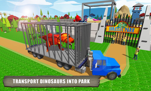 Jurassic Dinosaur Park Craft: Dino World For PC