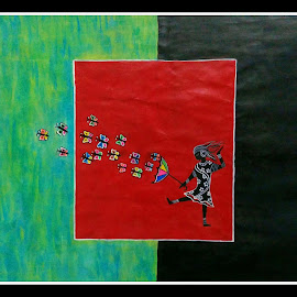 freedom by Suresh Kumar - Painting All Painting