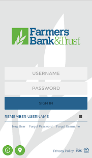Farmers Bank & Trust Business app for Android Preview 1