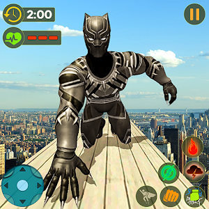 Panther Superhero Rescue Mission Crime City Battle Online PC (Windows / MAC)