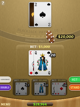 Blackjack 45162 APK screenshot thumbnail 9