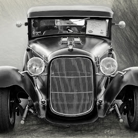 hot rod by Kirk Kimble - Transportation Automobiles ( car, automobile, model t, hot rod, black )