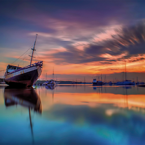 .:: blue burned ::. by Setyawan B. Prasodjo - Transportation Boats