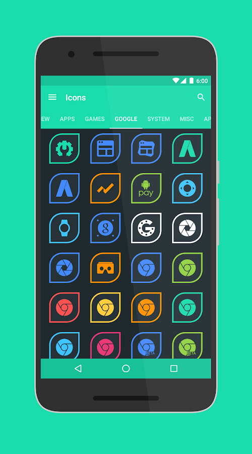 Folium - Icon Pack Screenshot 9