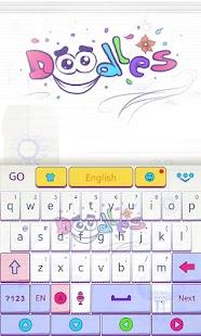 Doodles-GO-Keyboard-Theme 1