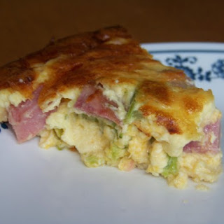 Ham Cheese and Broccoli Quiche