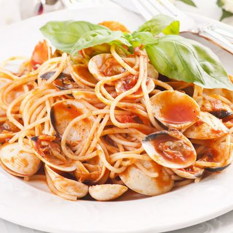 Pasta in Red Clam Sauce
