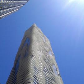 Water Tower by Carlos Bautista Moriones - City,  Street & Park  Vistas