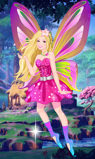 Dress Up Barbie Mariposa