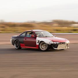 Drift by Mike Newland - Sports & Fitness Motorsports ( car, s14a, 200sx, drift, nissan )