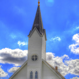 Little White Church in the Vail by Jackie Eatinger - Buildings & Architecture Places of Worship (  )
