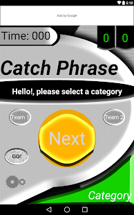CatchPhrase - screenshot
