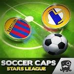 Soccer Caps Stars League Icon