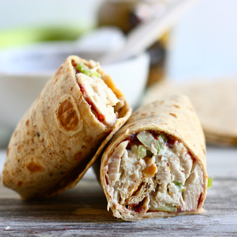 Turkey Salad Roll-Ups