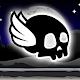 Winged Skull In The Dark