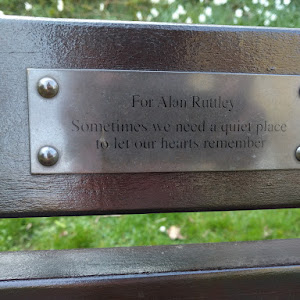 For Alan Ruttley Sometimes we need a quiet place to let our hearts remember This plaque is originally from OpenBenches and is imported with their permission The image and text is licensed CC BY-SA ...