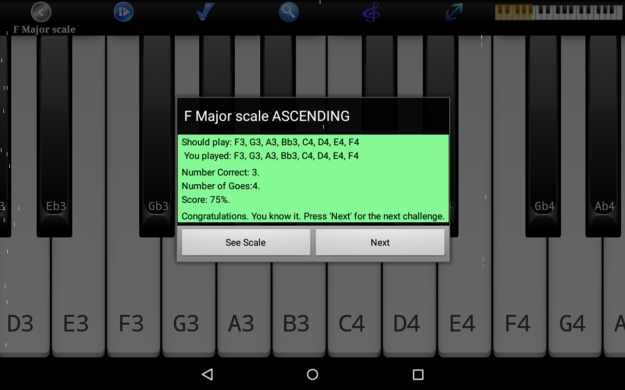 Piano Scales & Chords Pro Screenshot 14